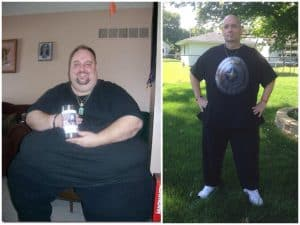 Todd loses over 300 lbs