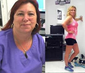 Julie gets fit