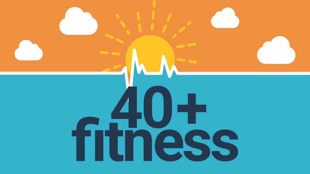40+ Fitness Logo